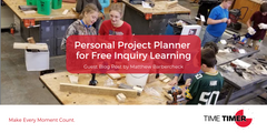Personal Project Planner for Free Inquiry Learning