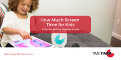 How Much Screen Time for Kids?  5 Tips for Setting Healthy Limits