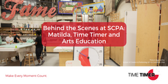 Behind the Scenes at SCPA: Matilda, Time Timer and Arts Education