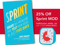 Get Ahead With Sprint Week (And a Special Time Timer Offer)!