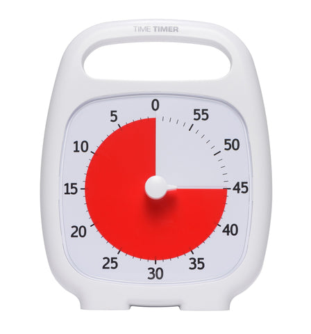TIME TIMER PLUS 60 MINUTE VISUAL TIMER