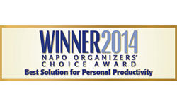 NAPO Organizer's Choice Award for Personal Productivity