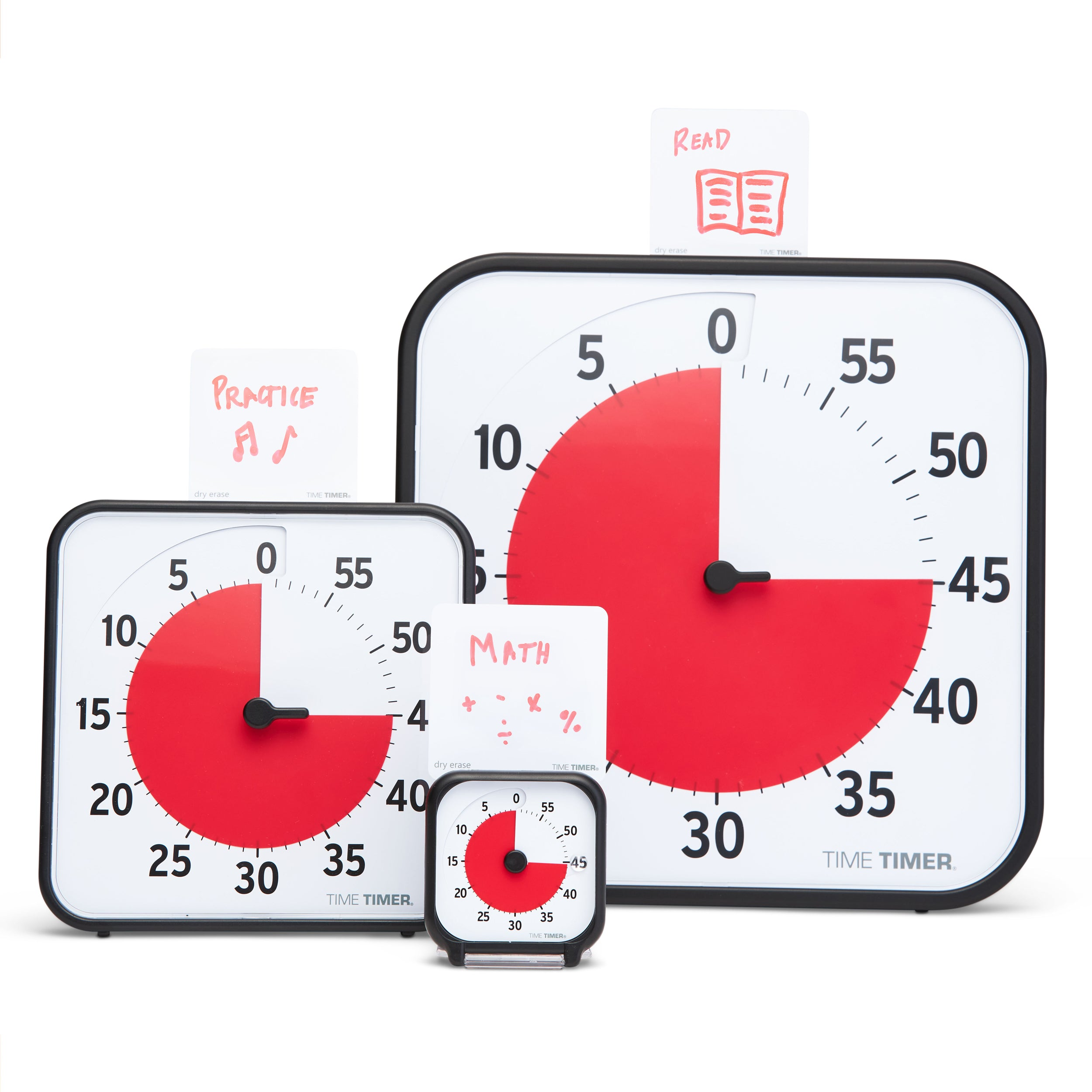 Time Timer Originals Accessory - Extra Dry Erase Activity Cards (Set of 5)