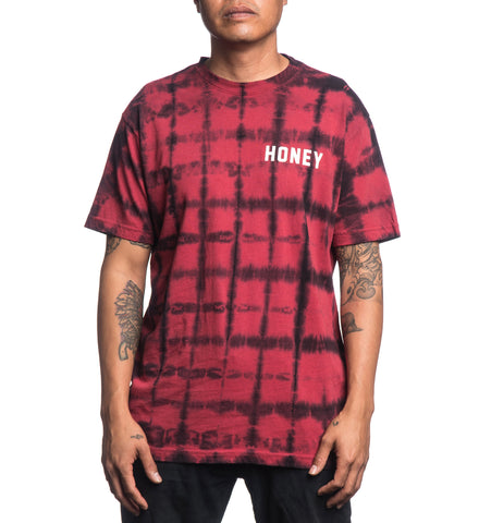 CORE PLAID WASH S/S TEE