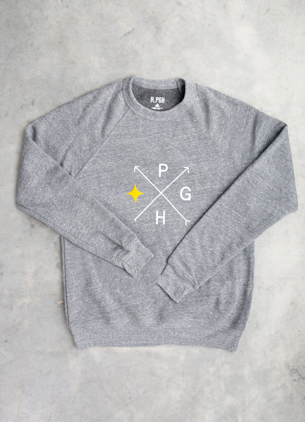 Arrow PGH Crewneck Sweatshirt - Ragged Row