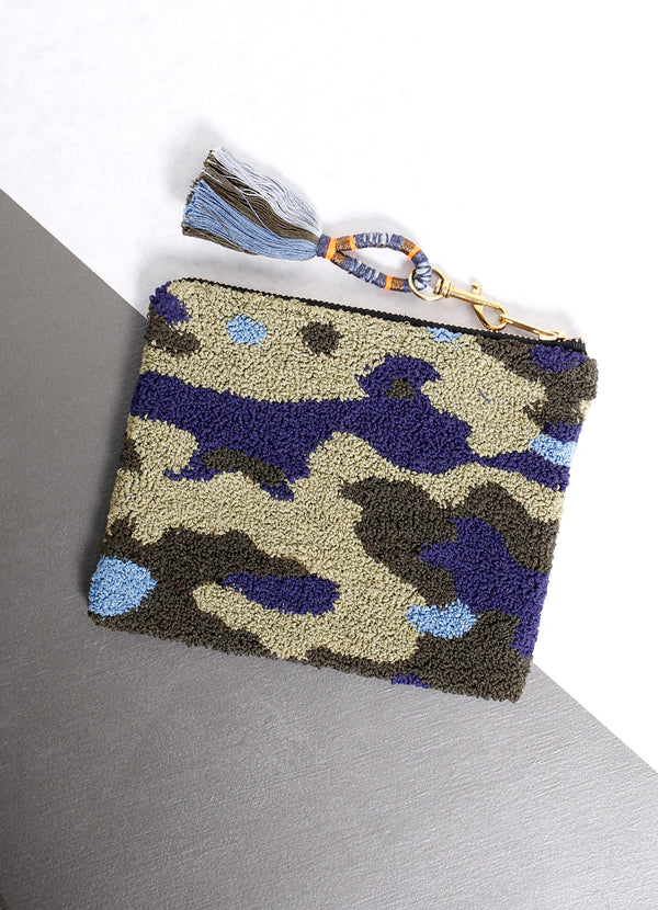 Camo Pouch - Ragged Row