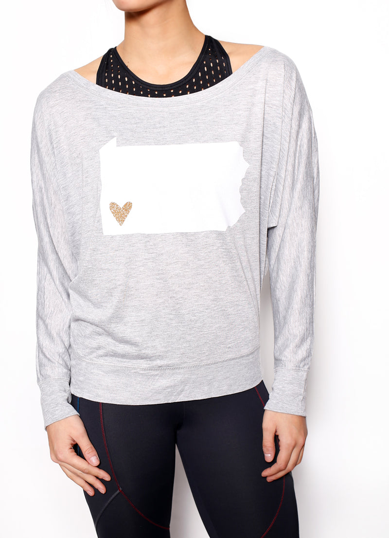 Heart PGH Long Sleeve - Ragged Row