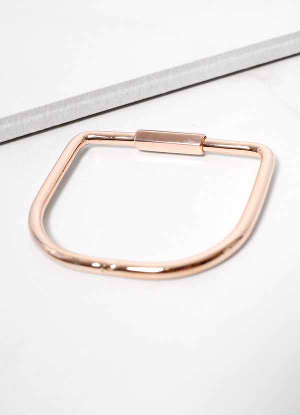 Bare Cuff Rose Gold - Ragged Row