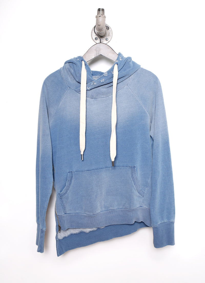Eliza Single Side Zip Hoodie - Ragged Row