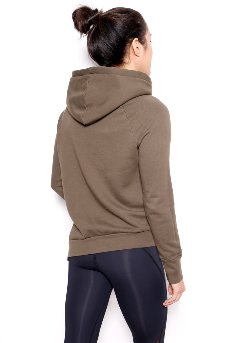 Enzo Lace Up Side Hoodie - Ragged Row