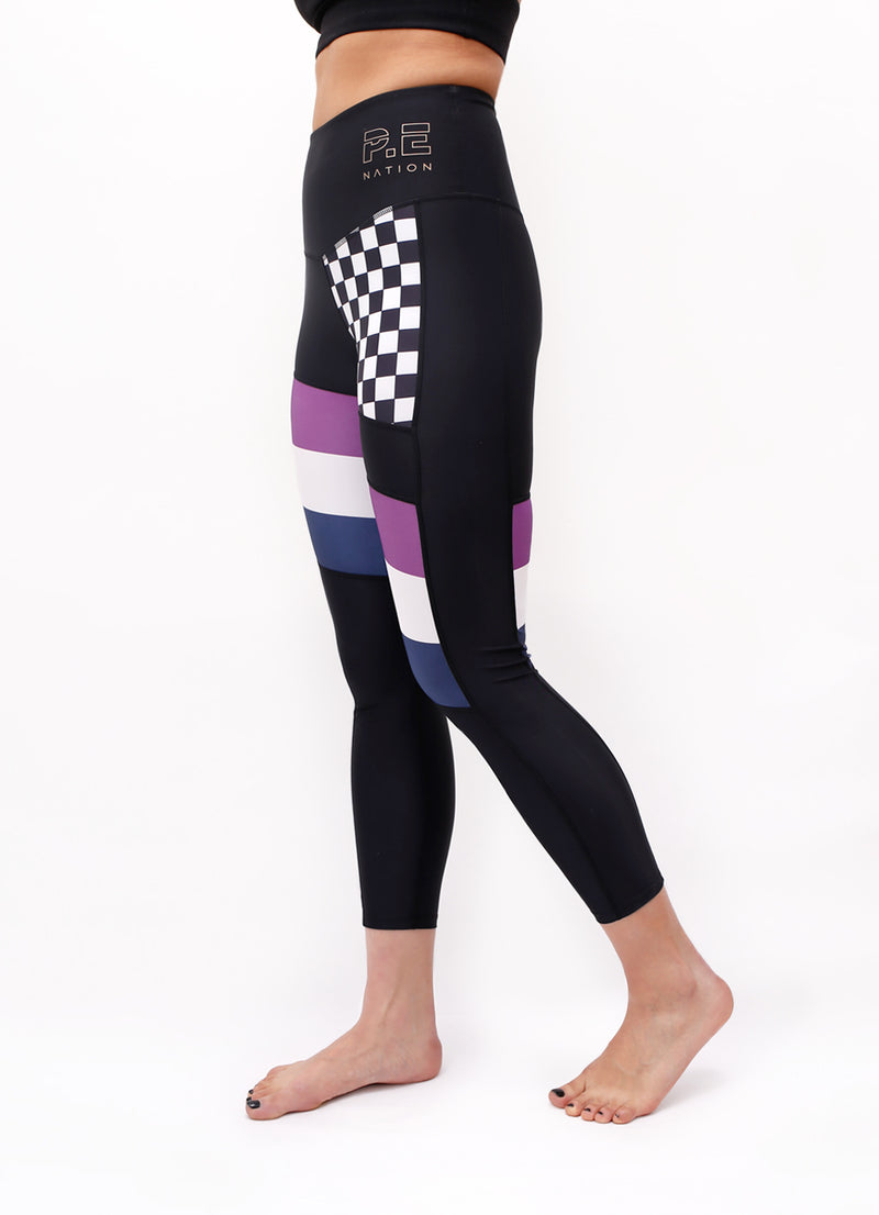 The Check Hook Legging - Ragged Row