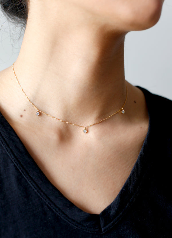 Tori Choker - Ragged Row