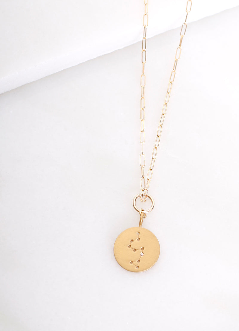 Constellation Charm Necklace Gold - Ragged Row