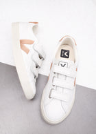 3-Lock Leather Sneaker