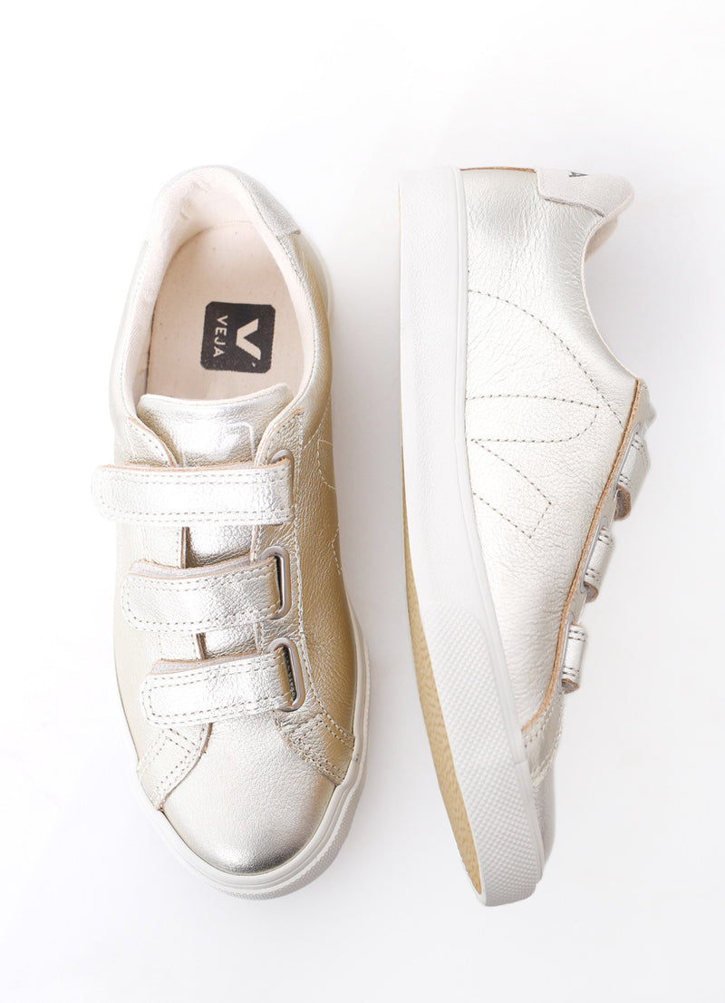 3-Lock Sneaker - Ragged Row