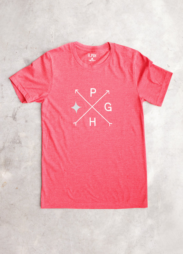 Arrow PGH Tee - Ragged Row