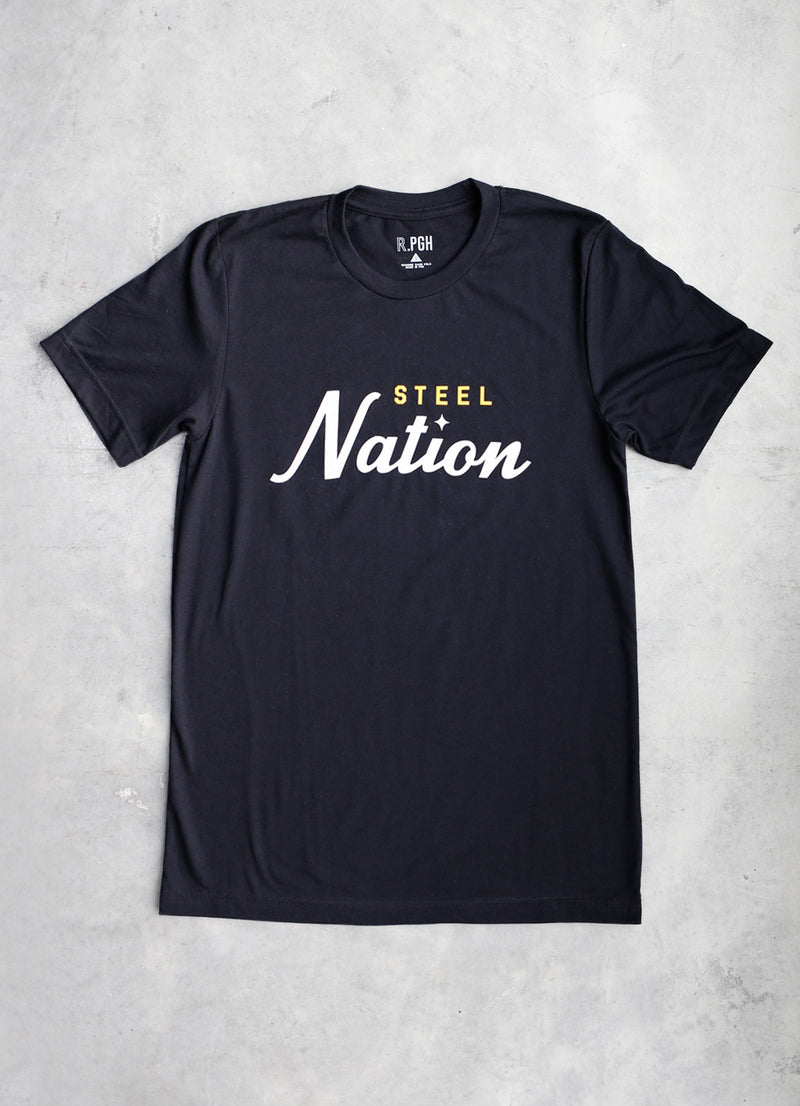 Heritage Steel Nation Tee - Ragged Row