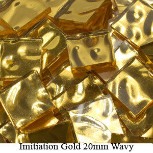 Mosaic Imitiation Gold Tiles