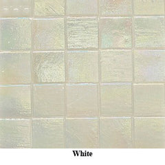 Mosaic Iridescent Glass Tiles- 15mm
