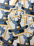 EightOneFour New Buck Stickers