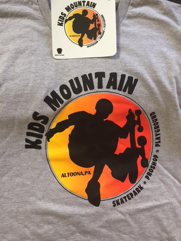 Kids Mountain - Altoona, PA - Shirt and sticker