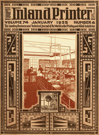 Inland Printer January 1925