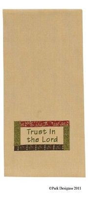 Kitchen Dish Tea Towel by Park Designs, Trust in the Lord