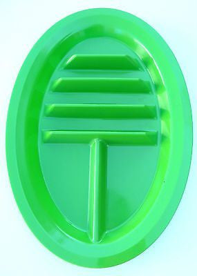 Taco Plates, BPA Free, Made in USA - Green