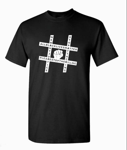 Hashtag Justice T-Shirts