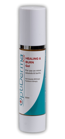 OptiDerma Plus Healing and Burn Gel