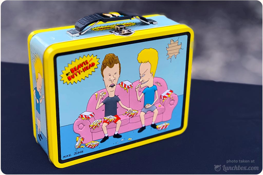 Beavis And Butthead Lunch Box