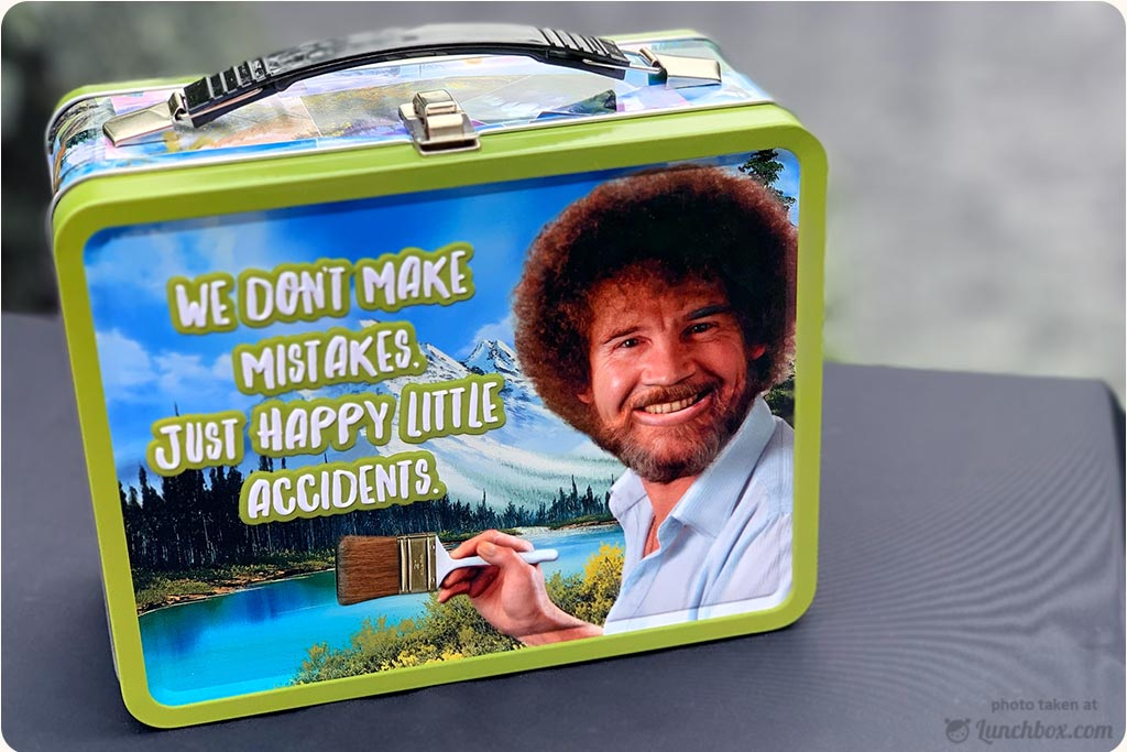 Bob Ross Lunch Box