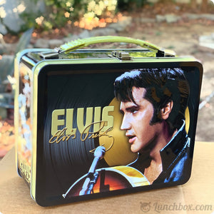 Elvis Presley Metal Lunch Box