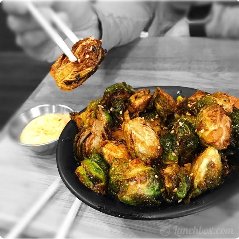 Healthy Japanese Brussels Sprouts