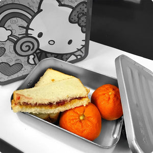 Peanut Butter and Jelly Sandwiches with Hello Kitty