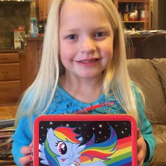 My Little Pony Lunch Box Giveaway Winer