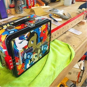 My Little Pony Bronies Lunch Box Guitar