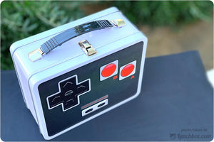 Retro Video Game Controller Lunch Box