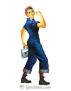 Rosie the Riveter with Lunch Box