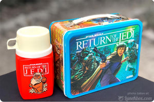 Star Wars Return of the Jedi Lunch Box with Thermos Bottle