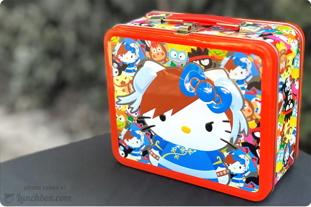 Hello Kitty - Street Fighter - Lunch Box