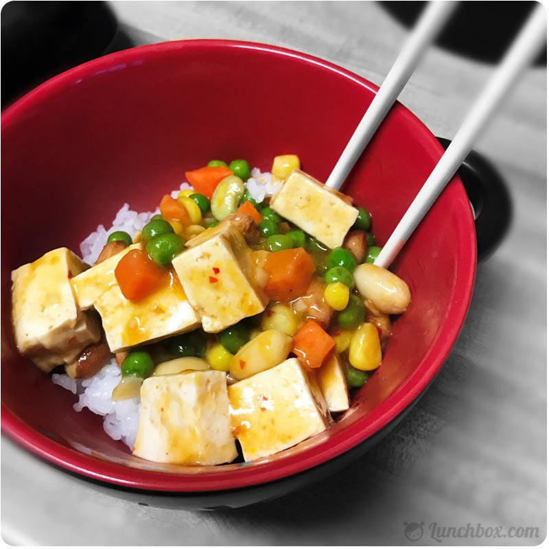 Vegetarian Bowl with Tofu