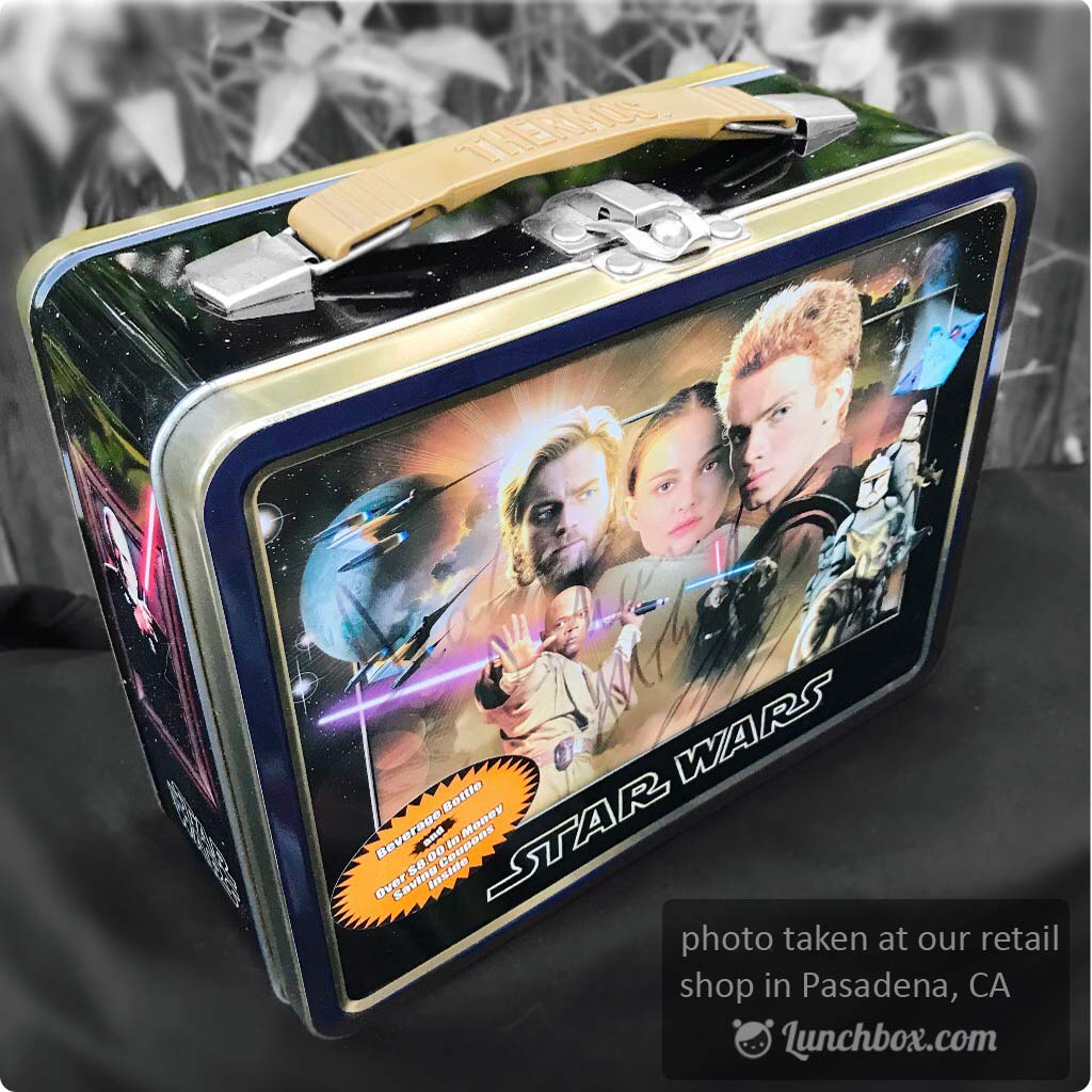 Classic Star Wars Lunch Box with Thermos Bottle