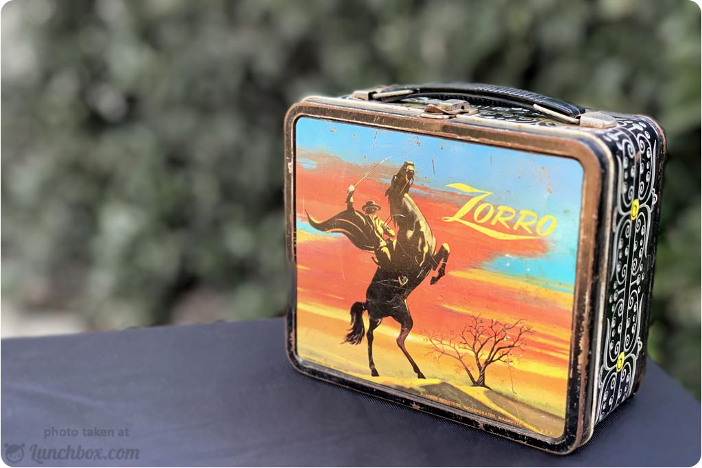 Zorro Lunch Box