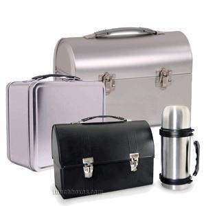 Plain Metal Lunch Boxes