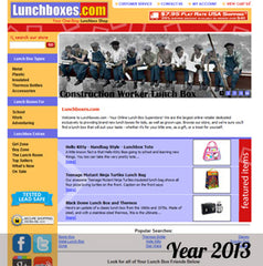 Lunchbox.com in the year 2013
