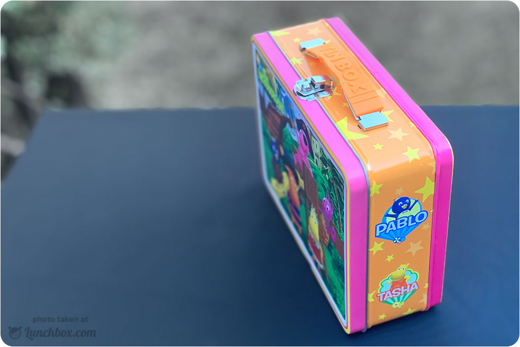Backyardigans Metal Lunch Box
