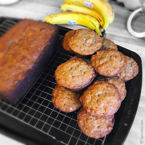 Banana Bread for a Lunch Box