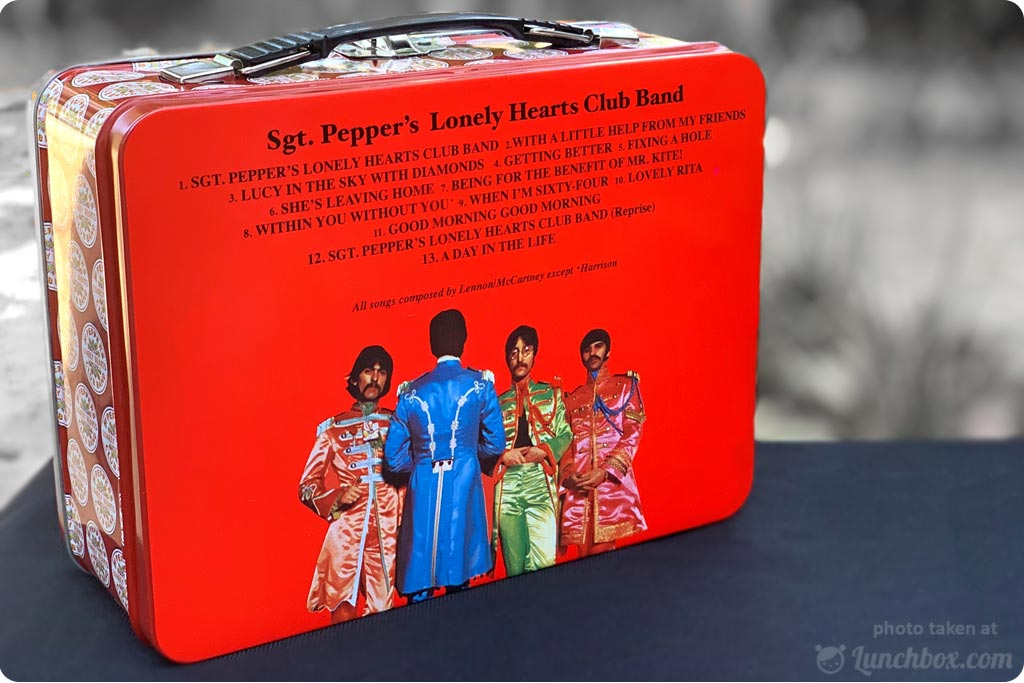 Beatles Sgt Pepper Lunch Box