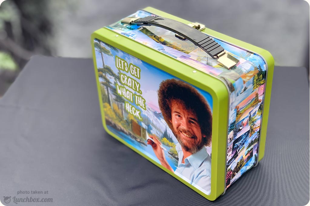 Bob Ross Metal Lunch Box